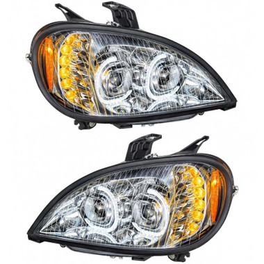 This comes with LED low beams and LED high beams light bulbs also or with halogens? Thanks
