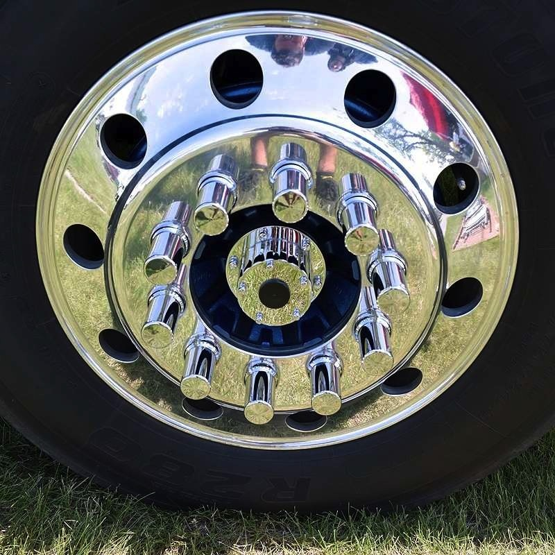 Lifetime Chrome Front Hub Oil Cap Replacement Cover For Hub Piloted Wheels Questions & Answers