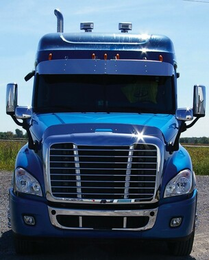 Freightliner Cascadia Hoodshield Bug Deflector Questions & Answers