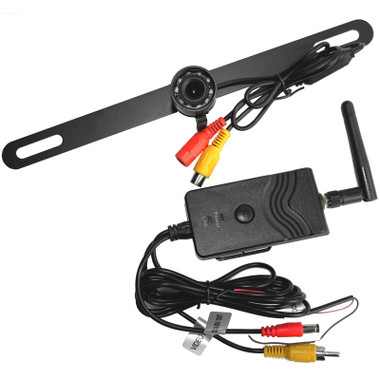 Universal Wireless License Plate Backup Camera Questions & Answers