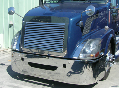 Volvo VNL 630 670 780 Bumper 2004 & Newer By Valley Chrome