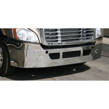 Freightliner Cascadia Bumper Chrome with Stainless Option 2018 & Older By Valley Chrome Questions & Answers