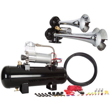 HornBlasters Jackass 228V Air Horn Questions & Answers