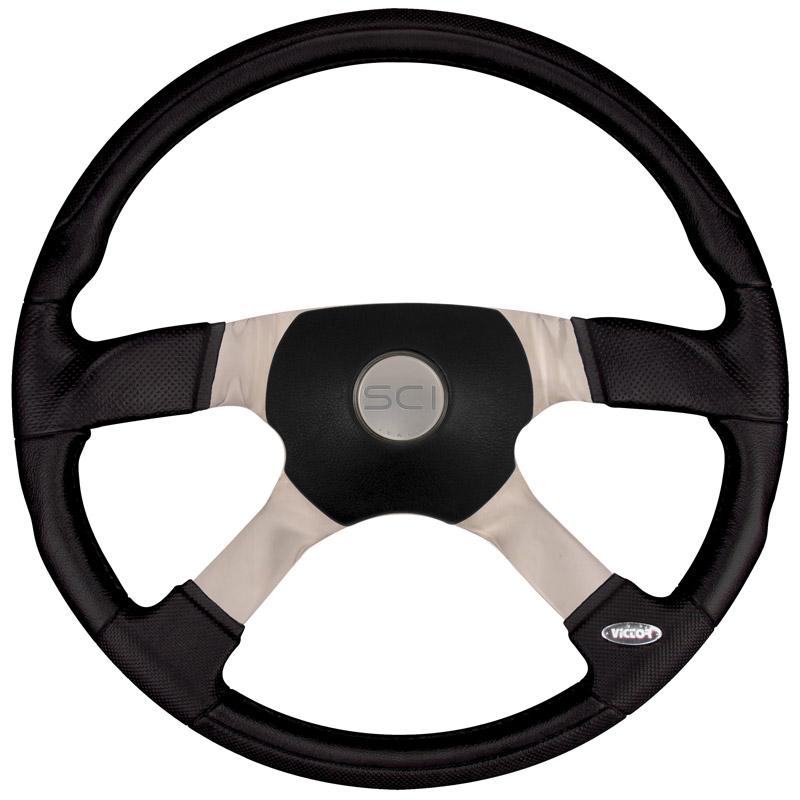 "18"" Trucker 4 Steering Wheel Questions & Answers"