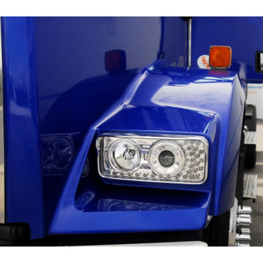 Kenworth W900 T800 T600 Projector Headlights With LED Turn Signal