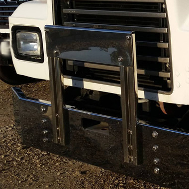 Mack R RD Series Bumper Grill Guard By Valley Chrome