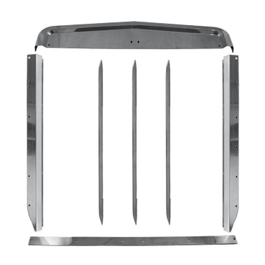 Kenworth W900L Stainless Steel Grill Surround Set Questions & Answers