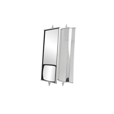 West Coast Combination Mirror 6 x 16 Stainless Steel By Grand General Questions & Answers