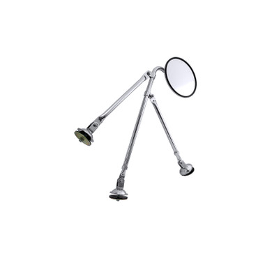 Tripod Fender Mount Convex Chrome Safety Mirror Assembly By Grand General Questions & Answers