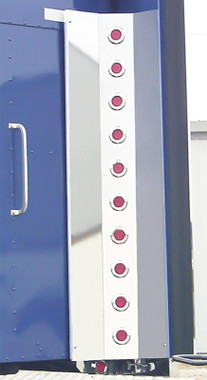 Kenworth Inner Extension Rear Vertical Bar With Round LEDs & Bezels By RoadWorks Questions & Answers