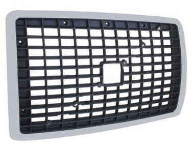 Volvo VNL Black & Chrome Grille Replacement 2004 & Newer 20505759 Questions & Answers