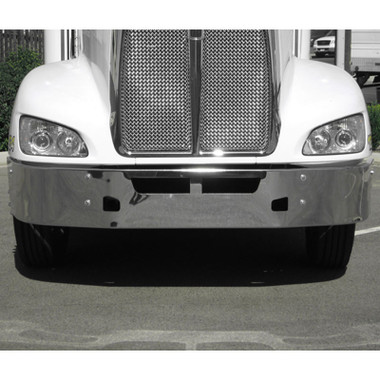 Kenworth T660 Front Bumper 2008-Newer By Valley Chrome