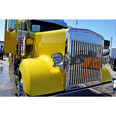 Kenworth W900L Replacement Grill Vertical Bars By RoadWorks