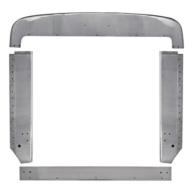 Peterbilt 359 Grill Surround Trim Set Stainless Steel Questions & Answers