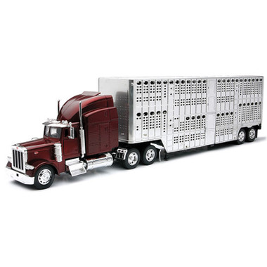 Peterbilt With Pot Belly Livestock Trailer 1/32 Scale