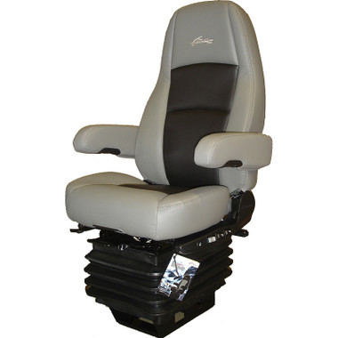 Sears Atlas II DLX Seat Highback Grey & Black Leather With Arm Rests Questions & Answers