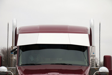 """Kenworth T680 T880 17.5"""" To 15.5"""" Blind Mount Untie Drop Visor By RoadWorks Questions & Answers"""