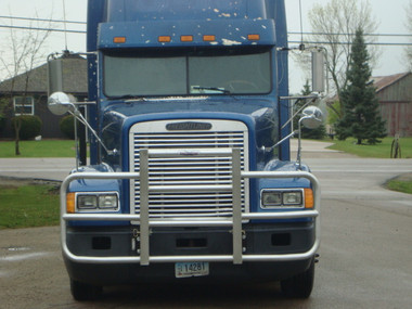 Freightliner FLD 120 Full Bar Rig Guard Questions & Answers