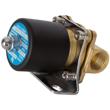 "HornBlasters Brass 1/2"" Electric Air Valve 210 PSI Max"