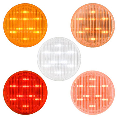 """2 1/2"""" Round Dual Function Clearance Marker LED Light By Grand General Questions & Answers"""