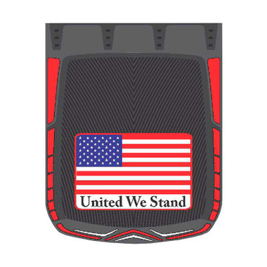 """24"""" x 30"""" United We Stand Mud Flaps With Black Background (Pair) Questions & Answers"""
