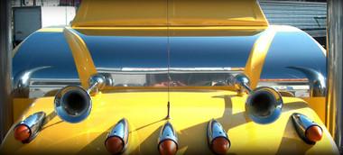 Peterbilt 379 Ultra Cab SS Top Sleeper Cover 3 Piece