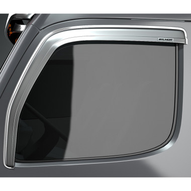 Mack CH Series Granite Vision Chrome Belmor Ventvisor Rain Guard