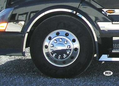 Volvo VNL Front Wheel Fender Trim 2003 & Newer Stainless Steel Questions & Answers