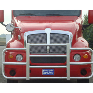 just just purchased this guard and this truck does not have stationary bumper, can you help 210 6593200 bull-one