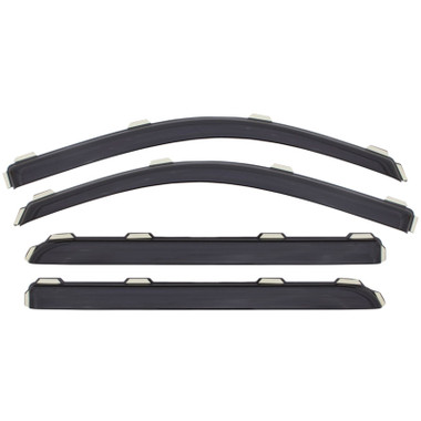 Ford F-150 Supercab AVS Smoke In-Channel Ventvisor 4 Piece 194974 Questions & Answers