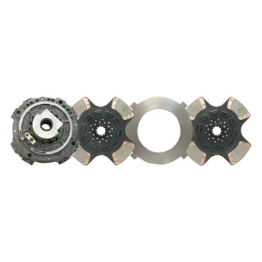 will this clutch work with a flat flywheel or pot styled