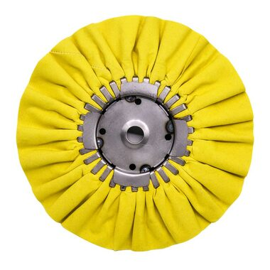 """Renegade 9"""" Yellow Mill Treated Airway Buffing Wheel 16 Ply Questions & Answers"""