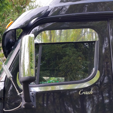 Freightliner Cascadia Chop Top Window Trim By Roadworks